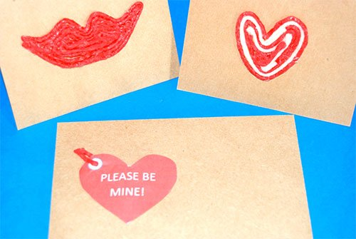 Valentine's Day PHOTO PROP Extension Activity