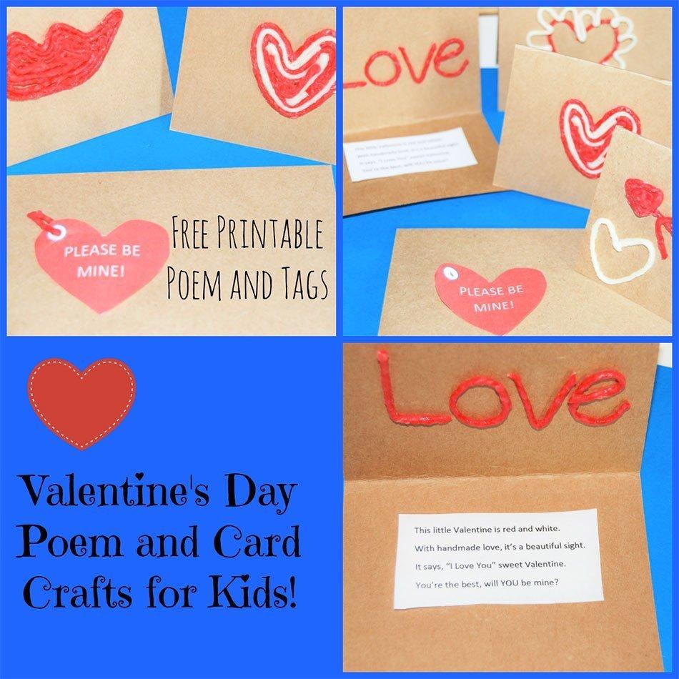 Valentines Day Easy Kids Craft  Nanny Shecando