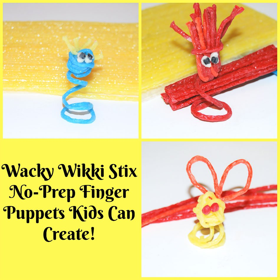 Wacky Finger Puppets for Kids!