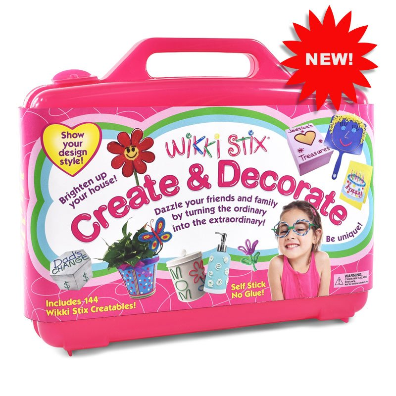 Create and decorate wikki stix for Create and decorate magazine free