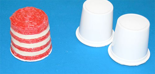 Miniature Cat in the Hat Recycled K-Cup Crafts for Kids