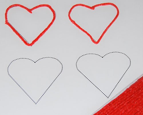 Valentine's Day Heart Tracing Activity: