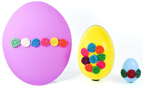 Basic Quilled Easter Egg Ideas!
