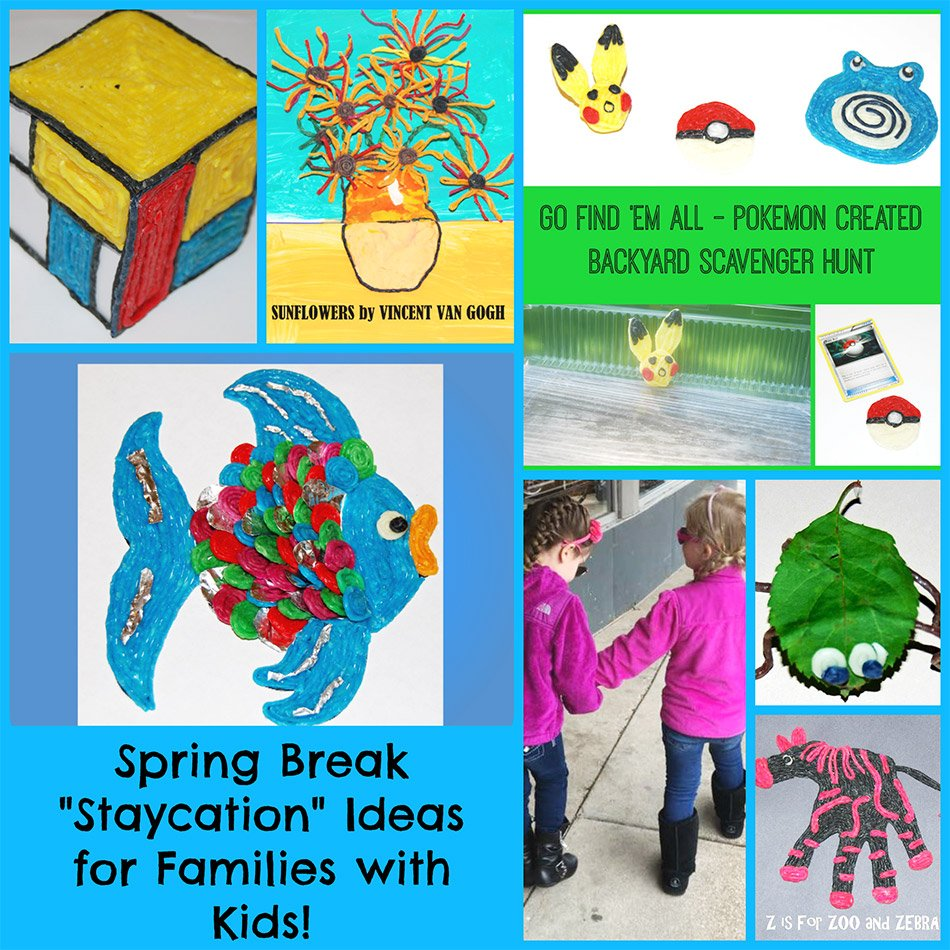 "staycation"" ideas for families with kids! 