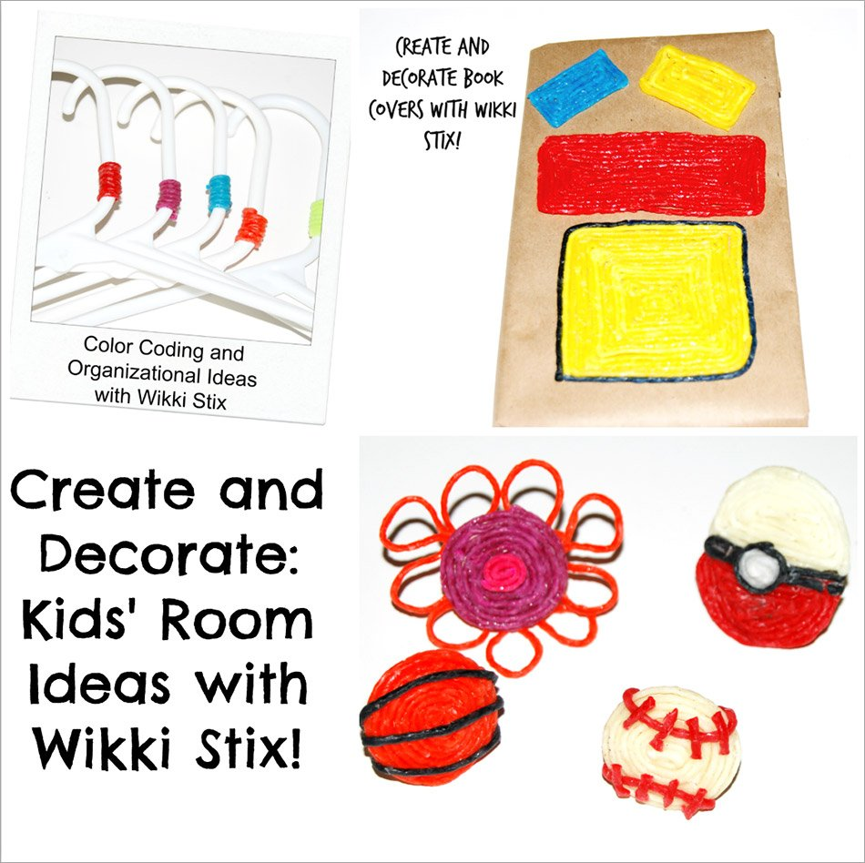 Create and Decorate: Kids' Room Ideas with Wikki Stix!