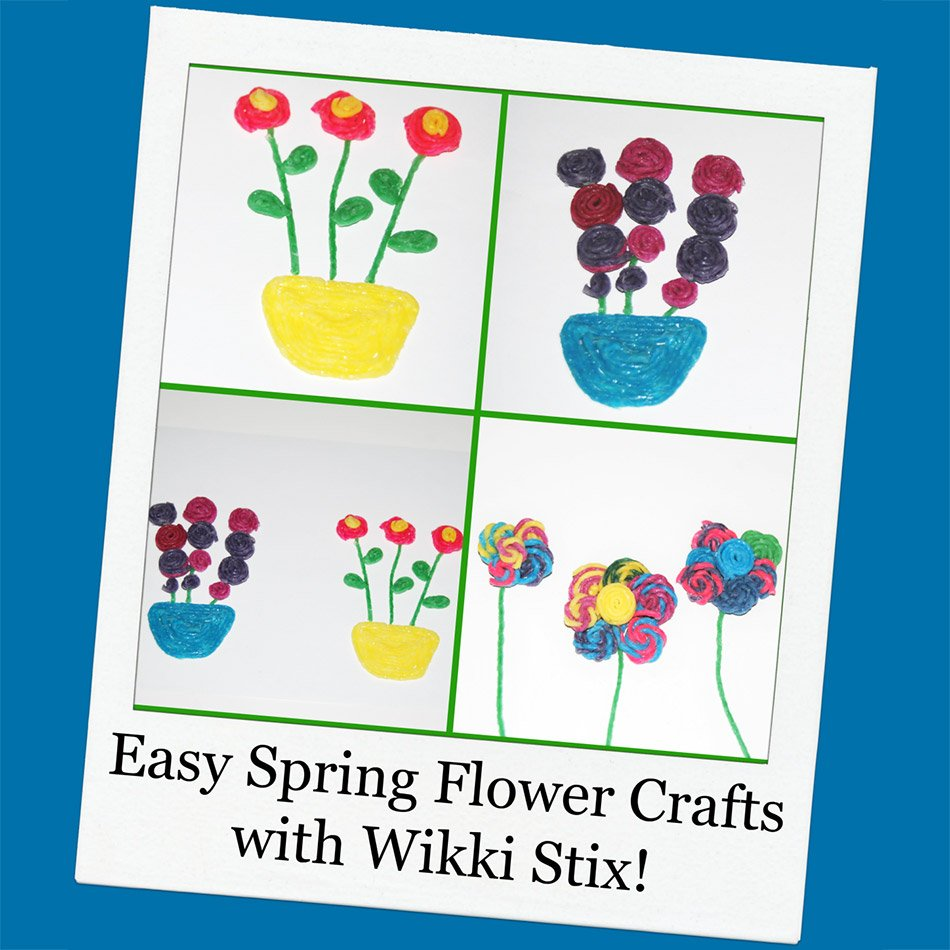 Easy Spring Flower Crafts for Kids