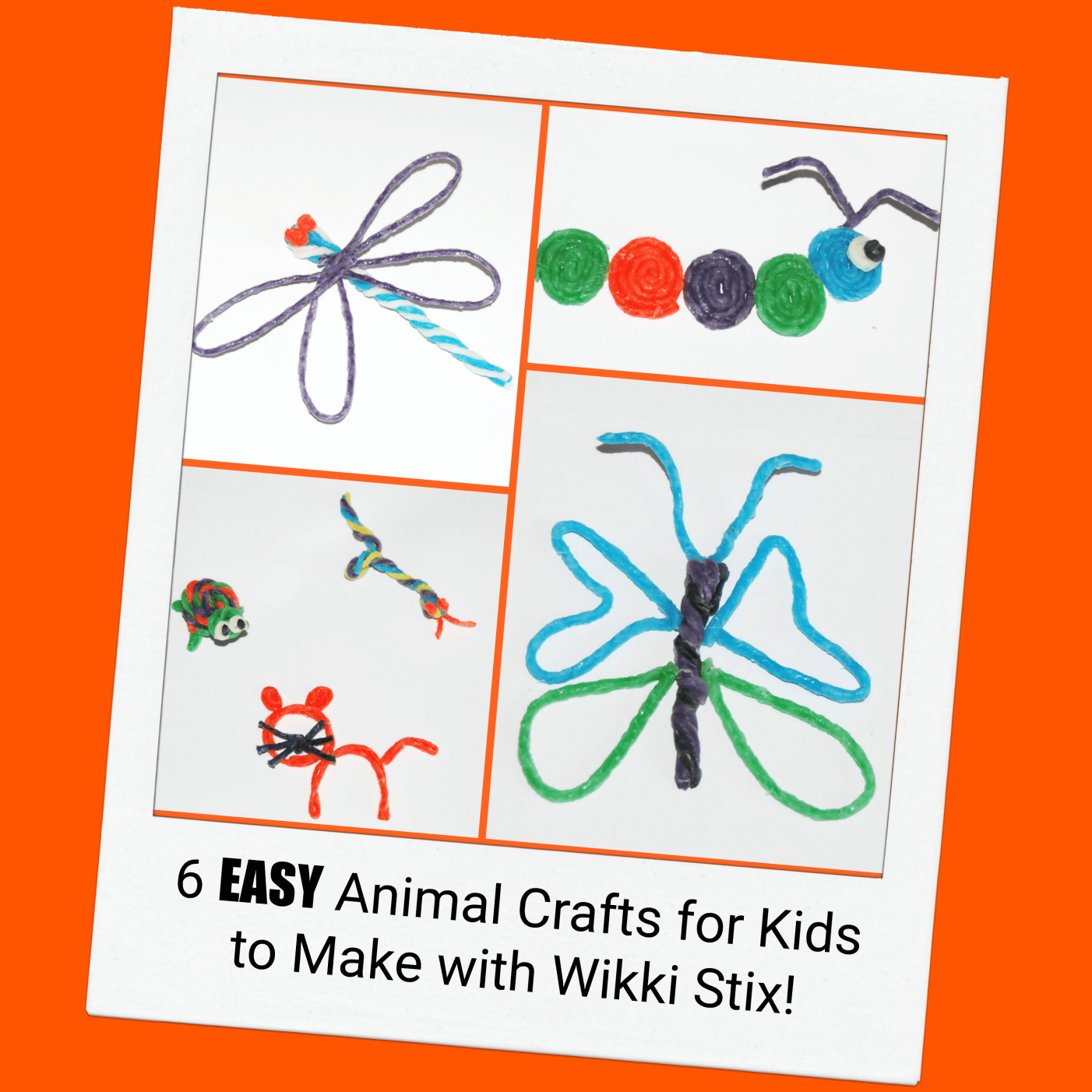 6 EASY Animal Crafts for Kids to Create!