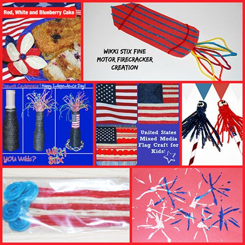 July Patriotic Crafts and Decorations