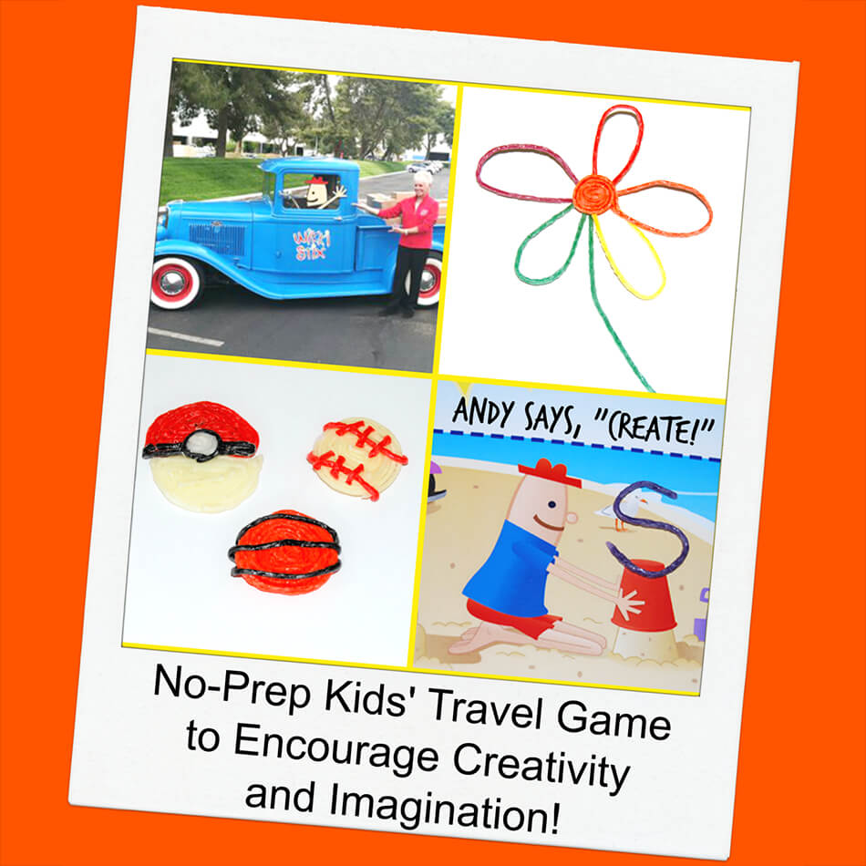No-Prep Kids' Travel Game