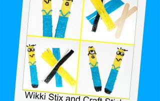 MINIONS Fine Motor Craft Stick Puppets for Kids!