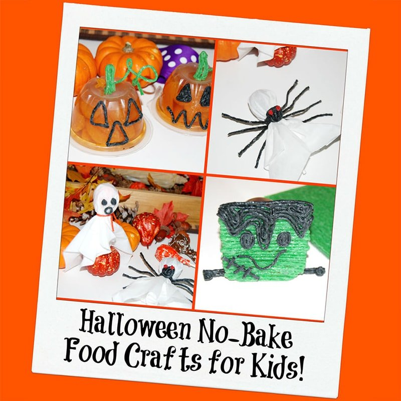 Halloween No Bake Craft for Kids