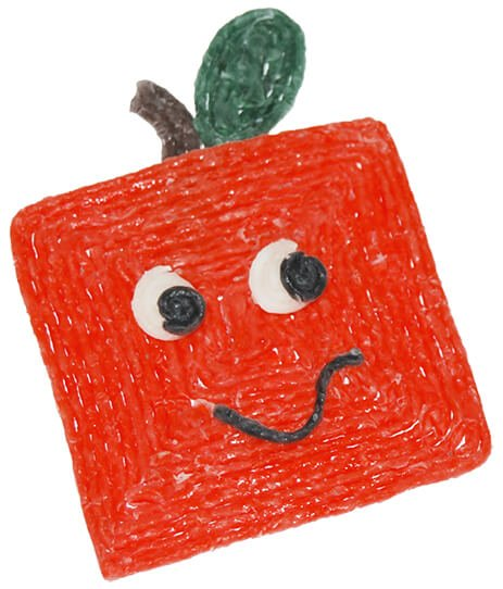 Square Pumpkin Craft for Kids
