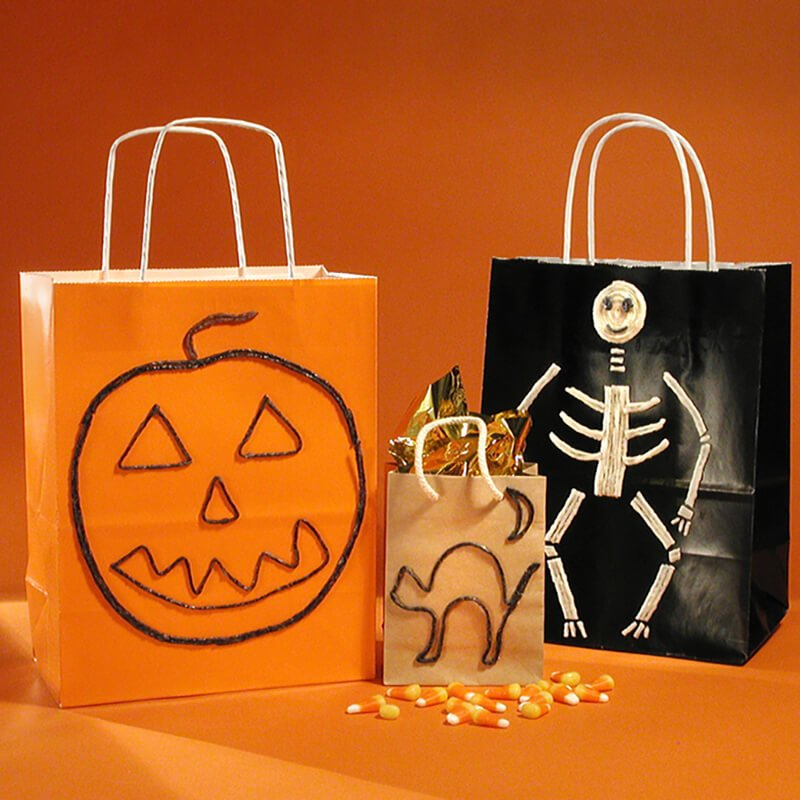 Decorate Halloween Bags