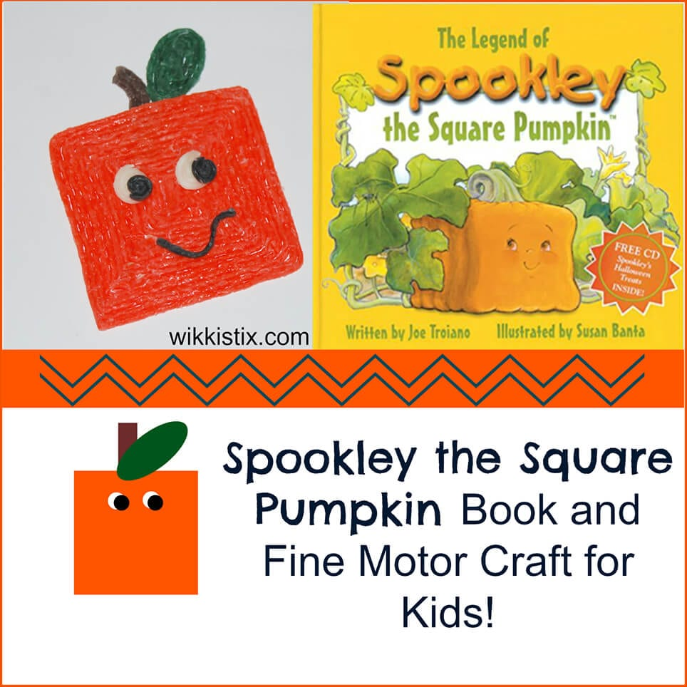 Spookley the Square Pumpkin Book and Craft for Kids!
