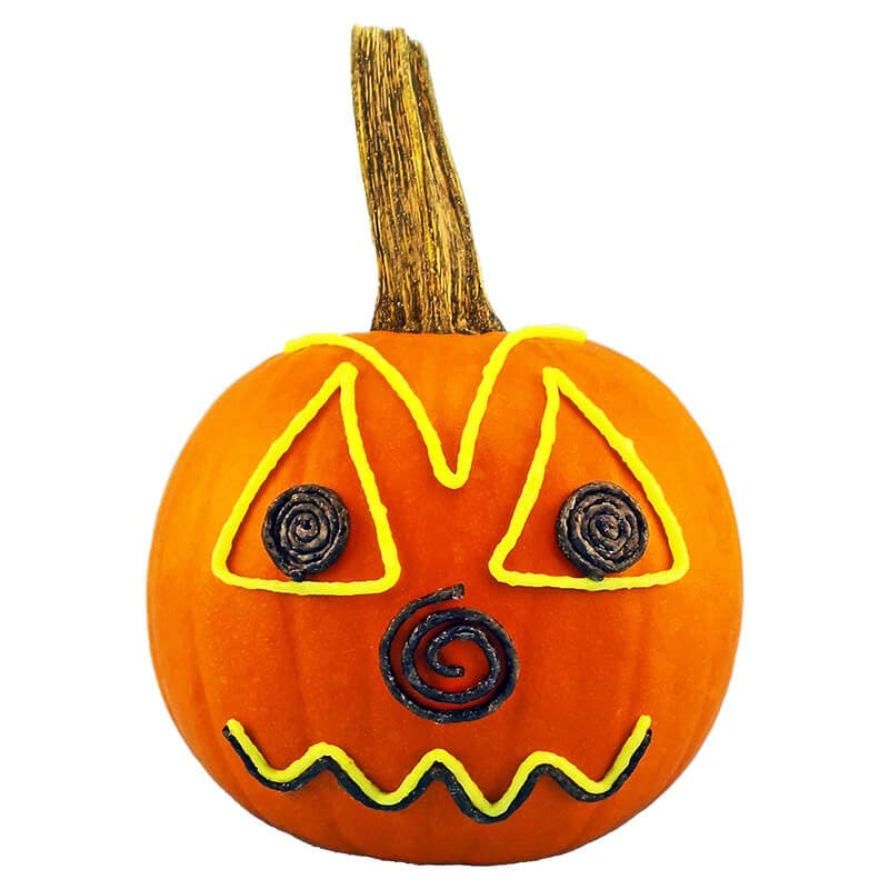 Wikki Stix Halloween Pumpkin
