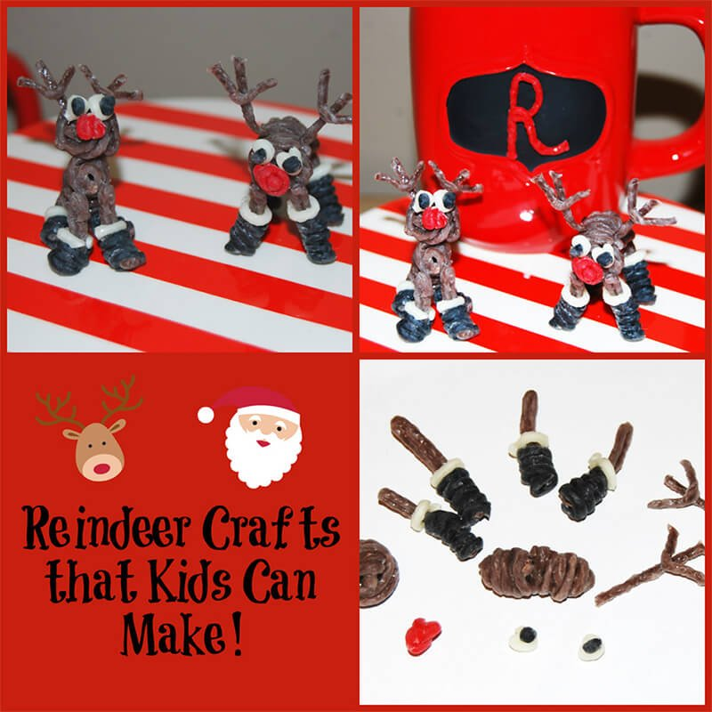 Miniature Reindeer Crafts that Kids Can Make!