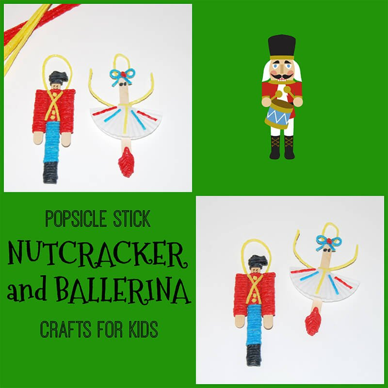 Nutcracker and Ballerina Ornament