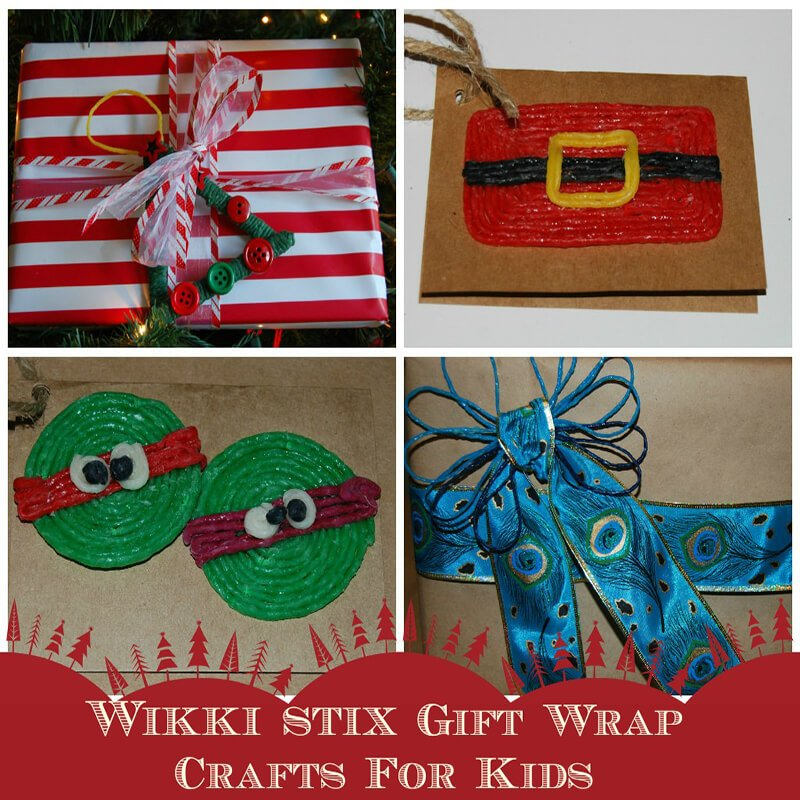 Gift Wrapping Crafts and Ideas for Kids