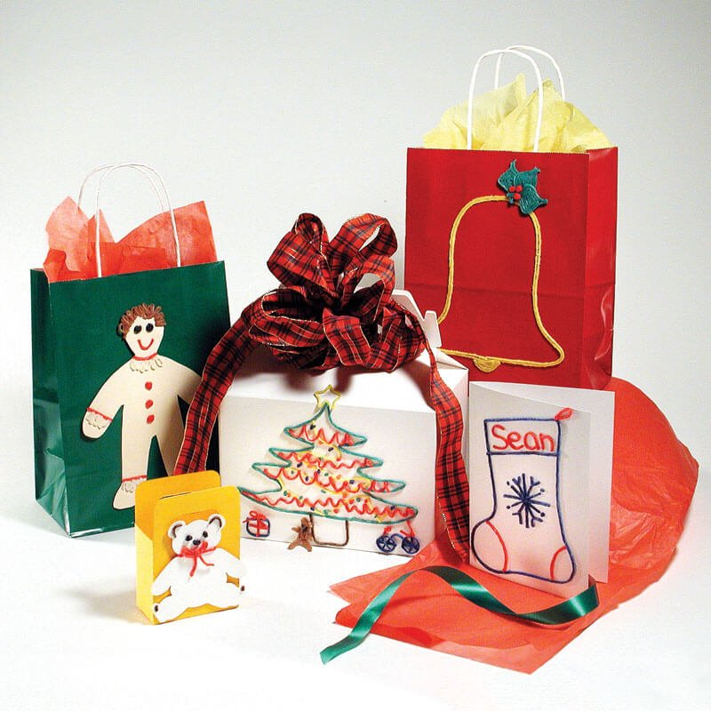 Decorate Holiday Bags