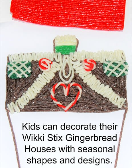 Decorating a Non-Candy Gingerbread House