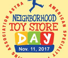 Neighborhood Toy Store Day.