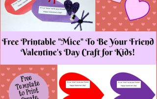 : Valentine's Day Printable Card Crafts for Kids to Create!