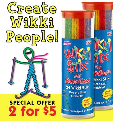 Wikki Stix for Doodlers Special Offer