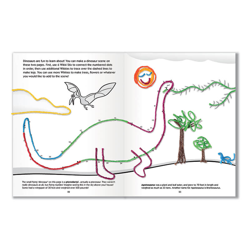 Activity Book Dinosaur Activities