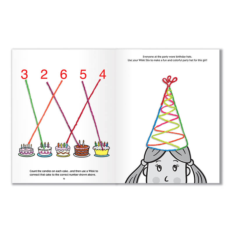 Have a Birthday Party with Wikki Stix