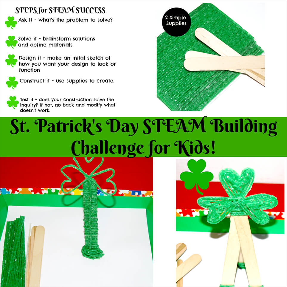 St. Patricks Day STEAM challenge