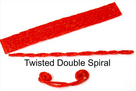 Twisted Double Spiral