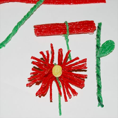 Wikki Stix Mother's Day Flower Craft