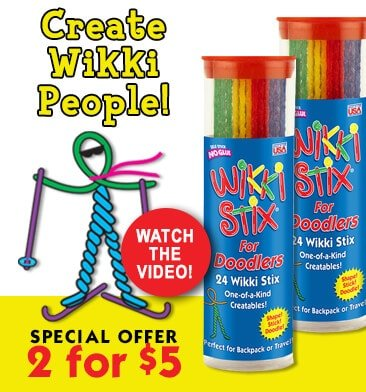 Wikki Stix for Doodlers Special Offer