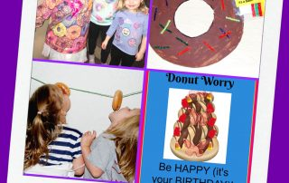 Donut Themed Birthday Party Ideas for Kids