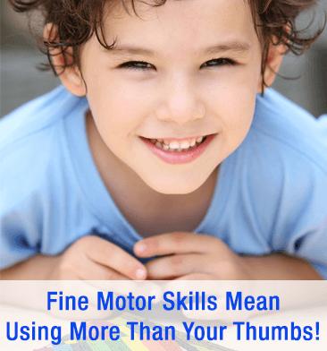 Fine Motor Skills for Kids!