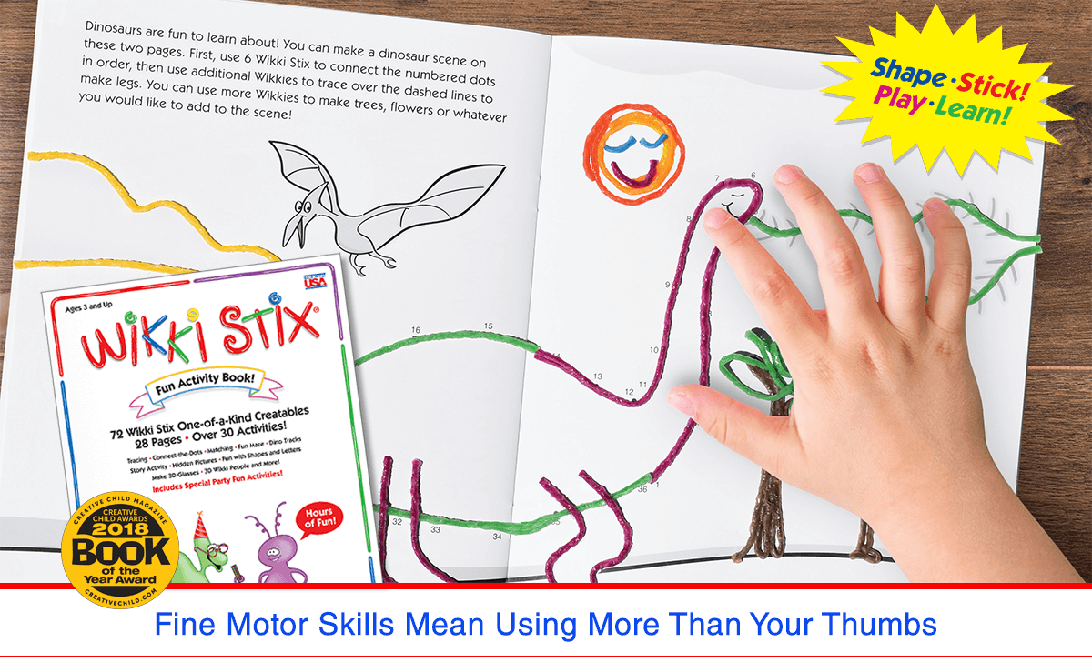 Fine Motor Skills Mean Using More Than Your Thumbs