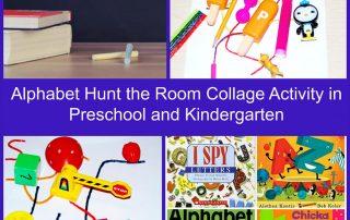 Alphabet Hunt the Room Activity in Preschool