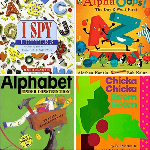 Alphabet Letter Books for Kindergarten