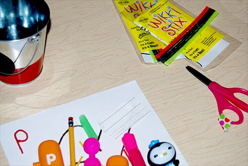 Alphabet Letter Item Hunt Activity for Kindergarten