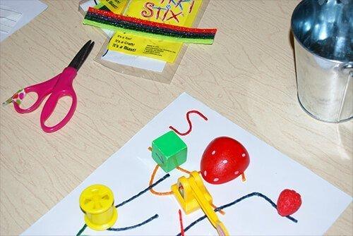 Hunt the Classroom Letter Item Find in Kindergarten