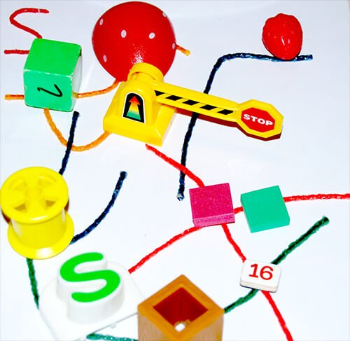 Letter S Hunt the Room Activity in Kindergarten