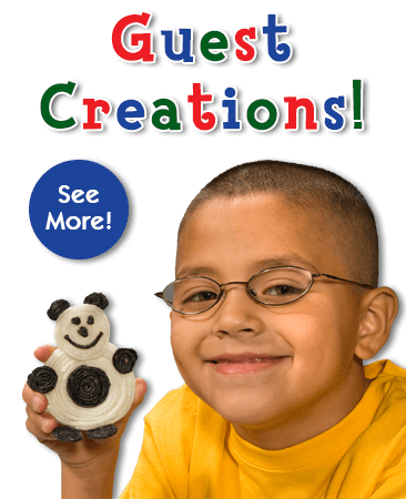 Sumbitted Kid & Guest Creations!