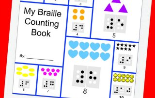 My Braille Fine Motor Counting Book
