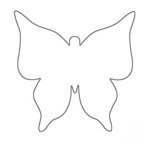 It's just a picture of Persnickety Butterfly Cut Out Printable