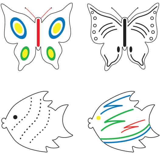 Fish & Butterfly Ideas