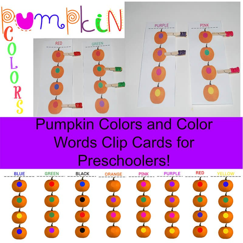 Pumpkin Counting for Kids