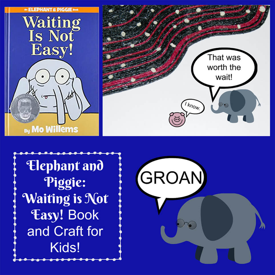 Learning about Waiting with Elephant and Piggie
