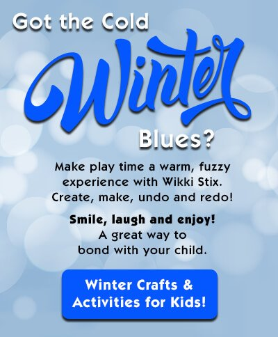 Winter Crafts for Kids!