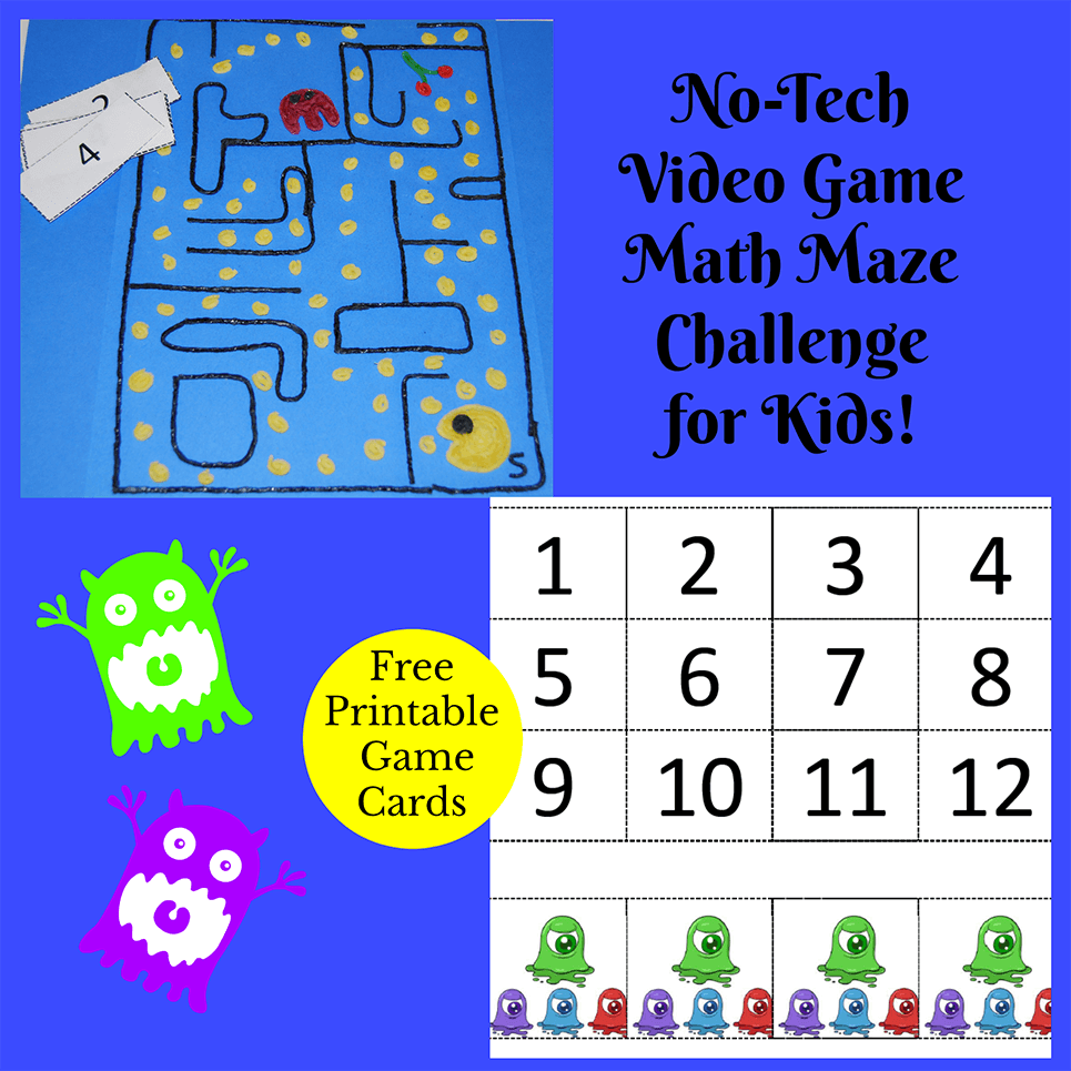 No Tech Video Math Challenge