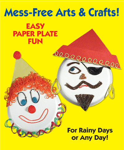 Mess Free Arts and Crafts for Kids